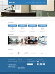 Responsive Website Template Simple Jumpster Responsive Website Template Responsive Website