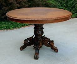 antique round dining table australia