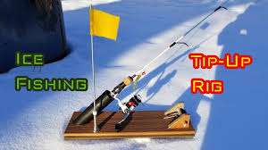 Homemade Tip Up Designs Diy Ice Fishing Tip Up Rig
