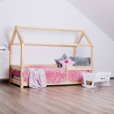 Child Bed Design Wood Kids Bed House Milla Mb