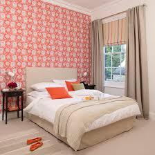 Children's bedroom with orange fox motif wallpaper - everyone's favorite  woodland creature!