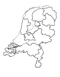 74 Mooi Blanco Kaart Van Nederland