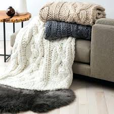 Ugg Throw Blanket Inspiration Ugg Blankets Oversized Knit Throws A Liked On Featuring Home Bed
