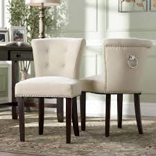 trendy inspiration ideas tufted nailhead dining chair 14 dining room