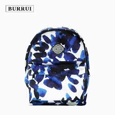 BURRUI <b>Waterproof Oxford Cloth Backpack</b> Women School Bags ...