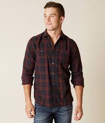 Mens Designer Flannel Flag Anthem Cascade Flannel Shirt Mens Products In