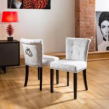 Patterned Dining Chairs Impressive Chair Dining Chair Set Grey Padded Dining Chairs Cream Dining