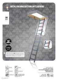 2016 fakro loft ladder catalogue metalfoldingsectionloftladders standard en 14975 32 33 lmkloft ladder diagram