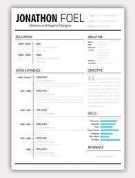 11 Free Psd & Html Resume Templates | Web & Graphic Design | Bashooka