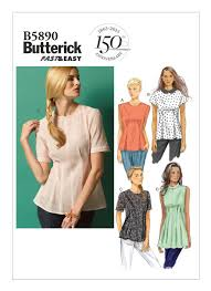 B40 Misses'Misses' Petite Tucked Tops and Tunic Sewing Pattern Unique Mccalls Patterns