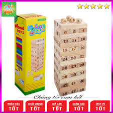 Báo giá Rút gỗ số thông minh 48 thanh loại to - Domino gỗ cho bé, đồ chơi  cho bé An Toàn✅Giá Rẻ✅Giúp Trẻ Thông Minh✅Phát Triển Toàn Diện thể chất &