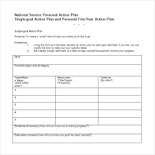 5 year career plan example after action plan template 5 year career plan template army archives