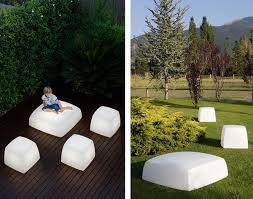 Outdoor Floor Lighting from Carpyen Lite Cube and Lite Box lights
