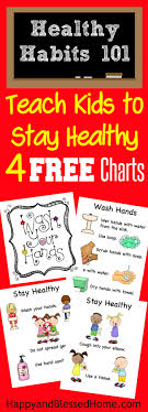 Bathroom Chart For Kids 5 Tips For Keeping Kids Healthy And Free Stay Healthy Printables