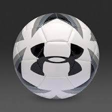 under armour 695 football. under armour desafio touchskin football - white/black/silver 695 l