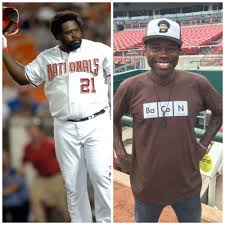 Dmitri Young shows up at Nationals game at half his playing weight | MLB.com