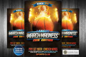 March Madness Flyer March Madness Basketball Flyer Template By Grandelelo On Deviantart