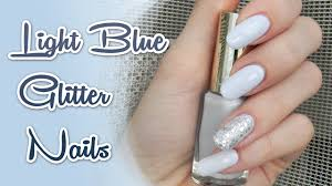 Sonickas Glammy Svetlo Modré Nechty Light Blue Nails