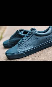 reduce to clear vans midnight navy blue leather shoes sneakers men s fashion footwear sneakers on carou