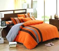 orange bedding sets orange and gray comforter sets orange bedding image of orange and blue comforter
