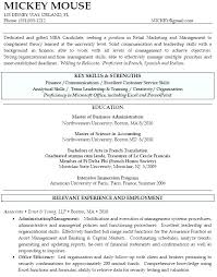 Resume For Mba Program Cover Letter For Admission Sample Letters Employment Experience
