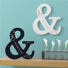 attractive ampersand wall decor home pictures wooden marquee cutout laser cut wood letter sign and metal personalized