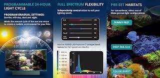 Fluval Plant Nano Light New Fluval Marine Nano Led Lights Aquapet Blog