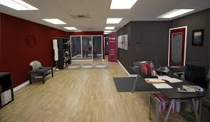 What color to paint office Den Paint Theme Redpoint Extreme Makeover Office Edition Redpoint Design Creative