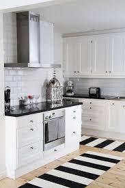 black and white kitchen ideas.  White Throughout Black And White Kitchen Ideas