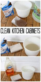 the best way to clean kitchen cabinets great tips and tricks here to clean with