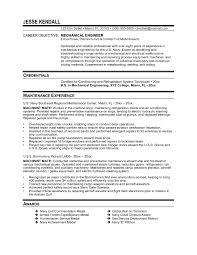 Resume Sample For Licensed Mechanical Engineer Best Licensed
