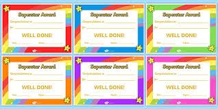 Name A Star Certificate Template Unique Super Star Award Certificates Super Star Award Certificates