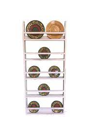 wall hanging plate rack and platter