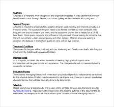 Design Proposal Sample Graphic Design Proposal Template Free Graphic Design Proposal