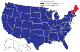 1928 elect map 1932 elect map