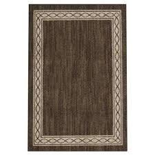 sparrow major brown bone white 4 ft x 6 ft area rug