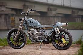 brat style guzzi built by rno cycles of