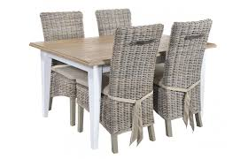 incredible grey wicker chairs with grey rattan dining table rattan la 8 seater rectangle dining set