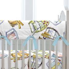 Carousel Designs Crib Rail Cover