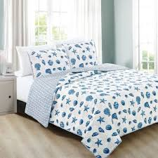 Buy Nautical Quilts from Bed Bath & Beyond & Great Bay Home Bali King Quilt Set in Blue Adamdwight.com