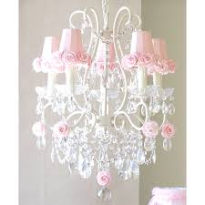 pink chandelier lamp shades with 5 light rose and 2 1321 1 on