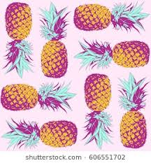 Pineapple Pattern Impressive Pineapple Pattern Images Stock Photos Vectors Shutterstock