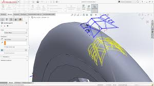 Circular Pattern Solidworks Gorgeous How To Apply Circular Pattern To Cutextrude Feature In Solidworks