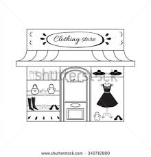 store clipart black and white. Wonderful Clipart 28 Collection Of Clothing Store Clipart Black And White  High Pertaining  To Inside D