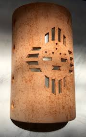 outside wall sconce zia sunface southwestern wall sconce ceramic