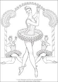 Small Picture Nutcracker Ballet Coloring Book Additional Photo Inside Page