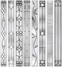 decorative door side panels door glass design made fixed and repaired by art glass stained glass studio derry city northern ireland