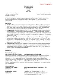 Resume Good Example Examples Of Resumes