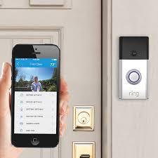 front door camera monitorRing WiFi Enabled Video Doorbell  Geeks Raising Geeks