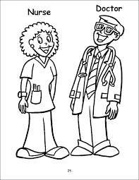 Coloring Pages Male Nurse Coloring Page Hello Kitty Pages As Well